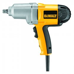 "Dewalt - DW292K - 1/2"" Impact Wrench Kit, 120VAC Voltage, Detent Pin, 345 ft.-lb. Max. Torque"