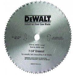 Dewalt - DW3324 - 7-1/4 Steel Finishing Circular Saw Blade, Number of Teeth: 100