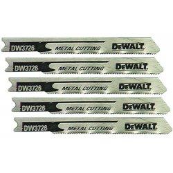 "Dewalt - DW3726-5 - 3"" 24tpi Thin Metal Cutcobalt U-shank J-saw Bld"