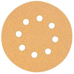 Dewalt - DW4311 - DeWALT DW4311 5'' 8 Hole 120 Grit Hook & Loop Random Orbit Sandpaper (25 pack)