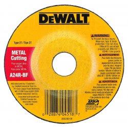 """Dewalt - DW4418 - 4""""x1/8""""x5/8"""" A24r 13-500rpm Ind. General Pur"""