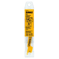 Dewalt - DW4814 - Reciprocating Saw Blade, 3-1/2 In. L, PK5