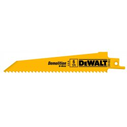 """Dewalt - DW4866 - 6"""" 14tpi Bi-metal Demoli"""