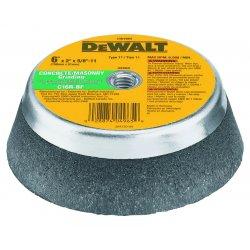 Dewalt - DW4965 - DeWALT DW4965 6'' x 2'' x 5/8''-11 Concrete/Masonry Grinding Steel Backed Cup Wheel