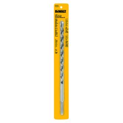 "Dewalt - DW5236 - 1/2""D x 12""L Three-Flat Percussion Drill Bit, Number of Cutter Heads: 2"