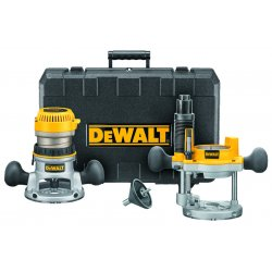 Dewalt - DW616PK - DeWALT DW616PK 37989 HP Fixed Base / Plunge Router Combo