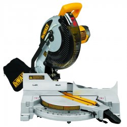 "Dewalt - DW713 - 10"" Compound Miter Saw, Single Bevel, 5000 No Load RPM, 15.0 Amps"