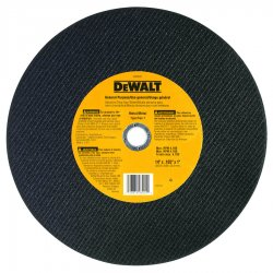 "Dewalt - DW8001 - 14"" Cut-Off Wheel, 7/64"" Thickness, 1"" Arbor Hole"
