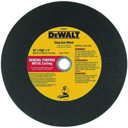"Dewalt - DW8010 - 16""x7/64""x1 General Purpose Stationary Caw Cut-o"