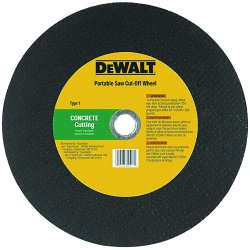 "Dewalt - DW8024L - 14""x5/32""x1"" Concrete /masonry Port Saw Cut-off"