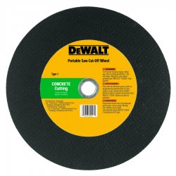 Dewalt - DW8026L - 12 In. x 1/8 In. x 1 In. High Speed Masonry Cutting Wheel