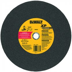 "Dewalt - DW8059 - 14"" Abrasive Cut-Off Wheel, 7/64"" Thickness, 1"" Arbor Hole"