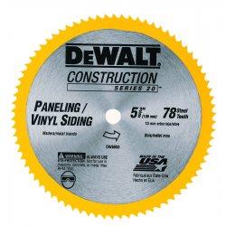 "Dewalt - DW9053 - 5-3/8"" 78t Series 20 Cor"