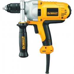 "Dewalt - DWD215G - 1/2"" Electric Drill, 10.0 Amps, T-Handle Handle Style, 0 to 1250 No Load RPM, 120VAC"
