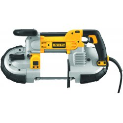 "Dewalt - DWM120 - DeWALT 10 A 100 - 350 FPM Heavy Duty Deep Cut Variable Speed Corded Band Saw With Hex Wrench And 44 7/8"" X 1/2"" X .020"" Standard Blade"