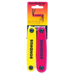 Bondhus - 12522 - Double Pack Fold Up Toolset Contains 12