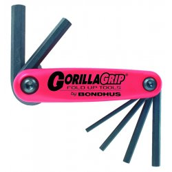 Bondhus - 12587 - 2mm-8mm Gorilla Grip Foldup Tool Set