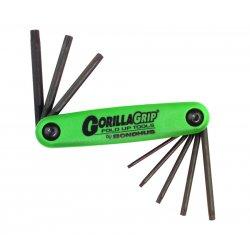 Bondhus - 12632 - T6-t25 Gorilla Grip Foldup Torx Tool Set