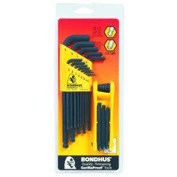 Bondhus - 14189 - 13-pc. Std. Balldriver Lwrench 9-pc. Std., Set