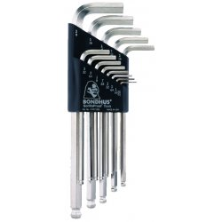 Bondhus - 16937 - 13pc Briteguard Balldriver L-wrench Set .050-3/8