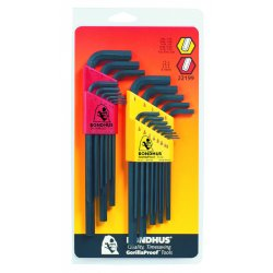Bondhus - 22199 - Bondhus Hex Key Double Pack Set - Steel - 1
