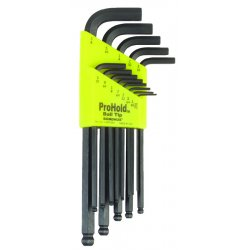 Bondhus - 74999 - Set 9 Prohold Balldriverl-wrenches 1.5-10mm