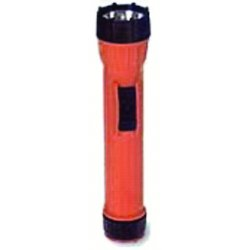 Bright Star - 14460 - Bright Star WorkSafe Waterproof Flashlight - Bulb - D - PolypropyleneLens Ring - Orange, Black