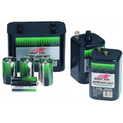Bright Star - 33040 - Bright Star Heavy Duty Batteries (Case of 48)