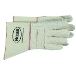 Boss / Cat Gloves - 1BC40721 - Heavy Weight Hot Mill Glove W/gauntlet, Pr