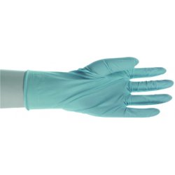 "Boss / Cat Gloves - 1UH0001L - Lrg 5mil Lightly Powdered Blue Nitrile 9-1/2"", Ea"