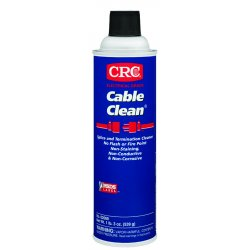 CRC - 02069 - CRC 02069 Cable Clean High Voltage Splice Cleaner, 19 Wt Oz