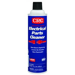 CRC - 02180 - CRC 02180 Electrical Parts Cleaner - 19oz Aerosol Spray Can