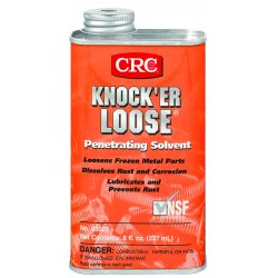 CRC - 03025 - 8 oz. Spout Can Penetrating Solvent, Red