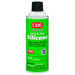 CRC - 03030 - Extreme Duty Silicone Lubricant, 16 oz. Container Size, 10 oz. Net Weight