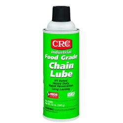 CRC - 03055 - Food Grade Chain Lubricant, 16 oz. Container Size, 12 oz. Net Weight