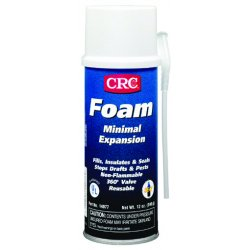 CRC - 14077 - 12 oz. Multipurpose Insulating Spray Foam Sealant, Off White