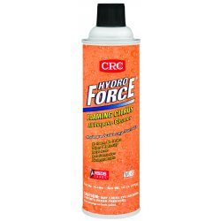 CRC - 14400 - 20-oz. Aerosol Hydroforce Foam Citrus Cleaner, Ea
