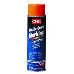 CRC - 18204 - CRC 18204 Upside Down Marking Paint, 20oz Aerosol Can, Orange