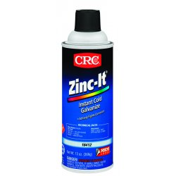 CRC - 18412 - CRC 18412 Zinc-It Galvanize Touch-Up Coating - 13oz Aerosol Can