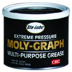 CRC - SL3141 - CRC MOLY-GRAPH Dark Gray 14 Ounce Can Extreme Pressure Multi-Purpose Grease