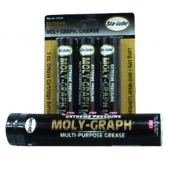 CRC - SL3144 - Moly-Graph Extreme Pressure Multi-Purpose Lithium Grease, 3 Wt Oz 3-Pack