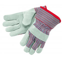 Memphis Glove - 1201S - Gunn Pattern Ladies Leather Palm Glove 2-1/2
