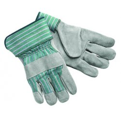 "Memphis Glove - 1350 - Select Shoulder Leatherpalm W/2-1/2"" Ru"