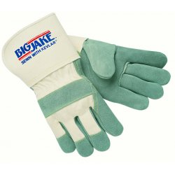 "Memphis Glove - 1710L - Large Big Jake 4-1/2"" Gauntlet Cuff Full Featur"