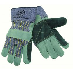 "Memphis Glove - 1911 - Double Palm Leather Glove Bullseye 2 1/2"" Safe"