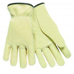 Memphis Glove - 3201S - Small Economy Grade Grain Driver Shirred Ela