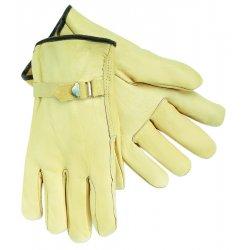 Memphis Glove - 3220XL - Grain Lthr Cream Color Pull Strap Drive