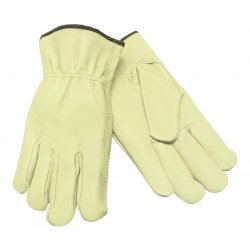 Memphis Glove - 127-3400L - Unlined Pigskin Driver Gloves, Cream, Large, 12 Pairs