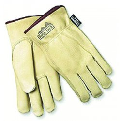 Memphis Glove - 3450M - Medium Pig Lined Grain Leather Glove Fleec