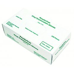 Memphis Glove - 127-5010L - Disposable Vinyl Gloves, Large, 5 mil, Medical Grade